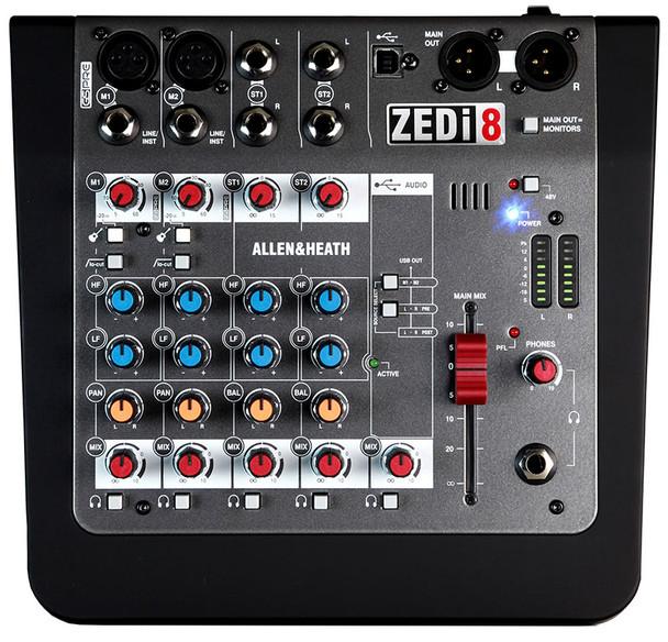 Allen & Heath ZEDi-8 HYBRID COMPACT MIXER / USB INTERFACE
