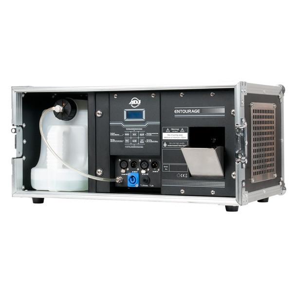 ADJ Entourage 1500W Pro Faze Machine with durable flight case and DMX protocol
