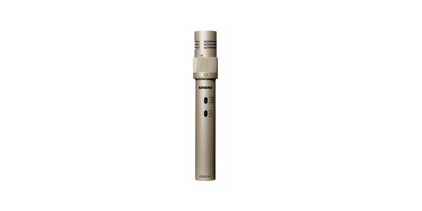 Shure KSM141/SL Dual-Pattern (Cardioid/Omnidirectional) Studio Condenser Microphone (Champagne), Foam Windscreen and Carrying Case