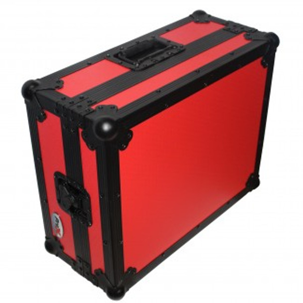 ProX Universal 1200 Style Turntable case Red on Black