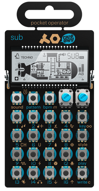 Teenage Engineering PO-14 Sub Pocket Operator