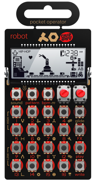 Teenage Engineering PO-28 Robot Pocket Operator