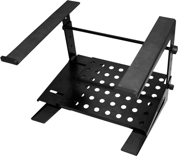 JamStands JS-LPT200 Double-tier, Multi-purpose Laptop/DJ Stand with Stand Alone Base