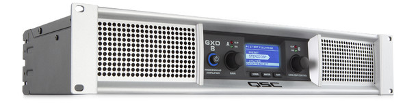 QSC Audio GXD8 4500 Watt Professional Power Amplifier