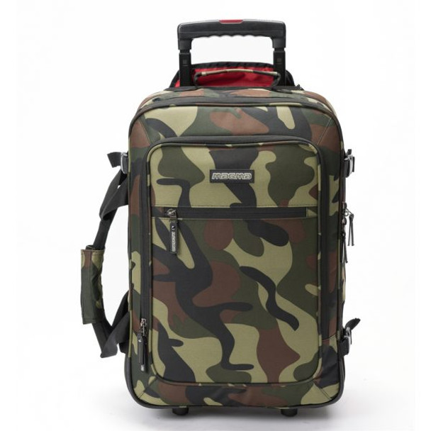 Magma DIGI Carry-On Trolley Camo-Green/Red