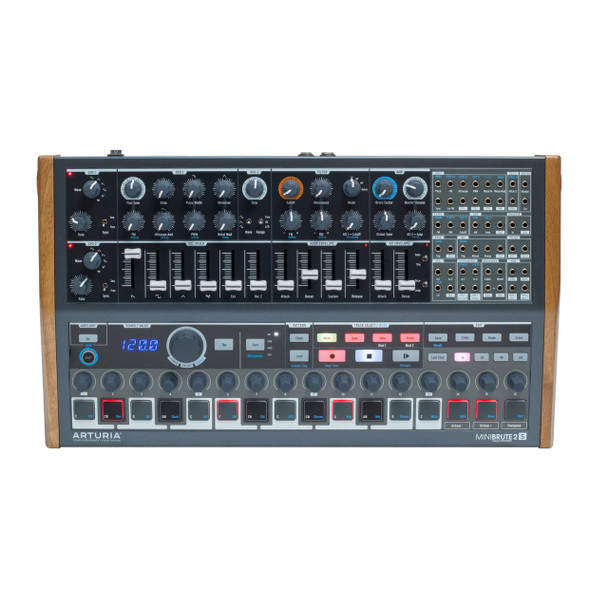 Arturia Minibrute 2S Sequencer/Synthesizer with Modular Patchbay