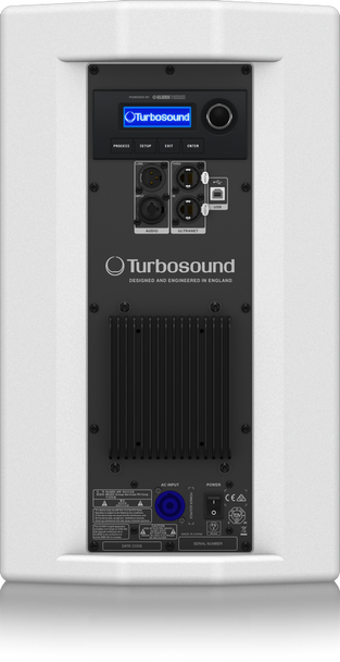 Turbosound NuQ82-AN-WH Powered Speaker