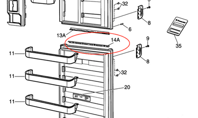 Dometic Refrigerator Thermostat Coleman RV Air Conditioner