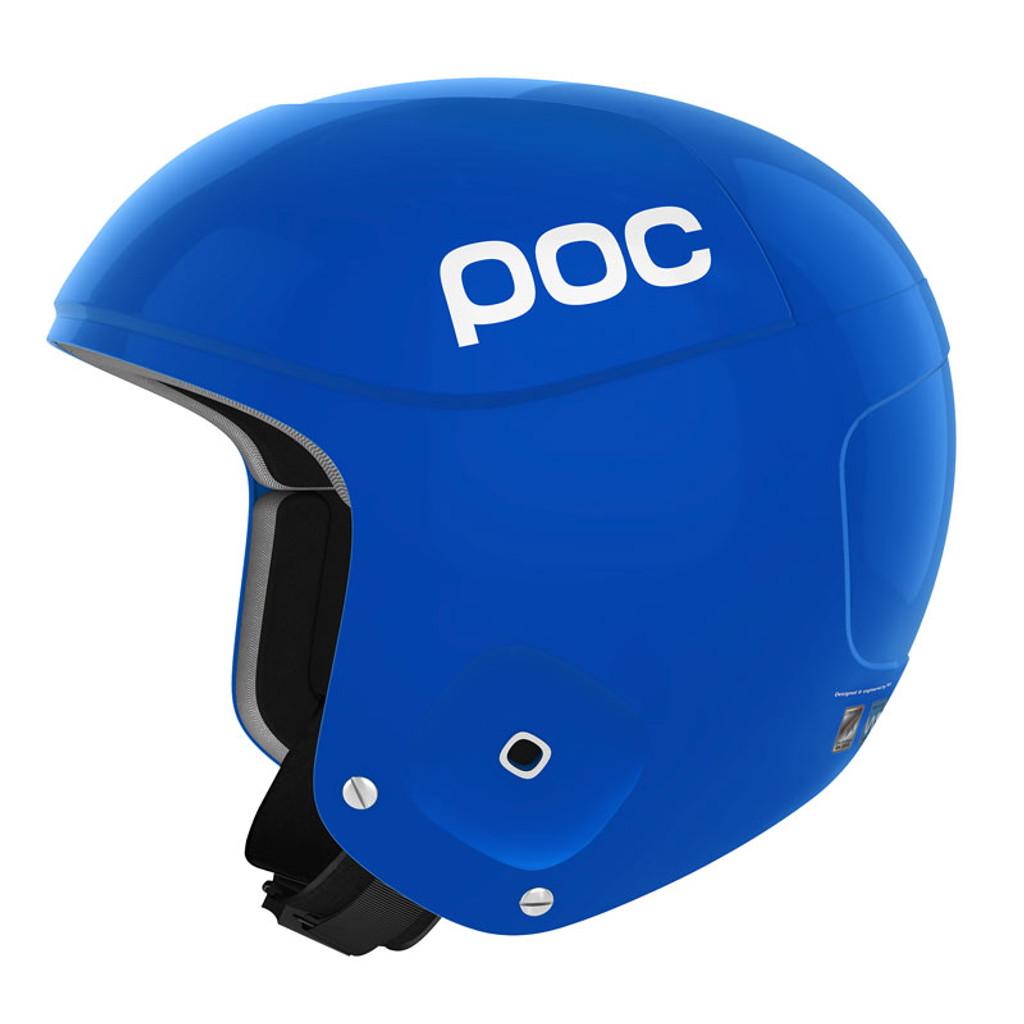 POC Skull Orbic X Helmet FIS Legal Ski Helmet in Krypton Blue