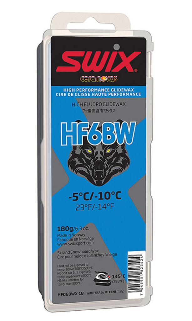 Swix HF6BWX High Fluoro Wax 180g
