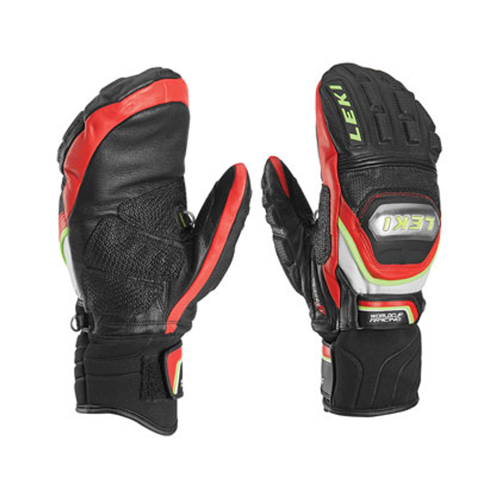 Leki World Cup Race Titanium S Mittens - Black/Red
