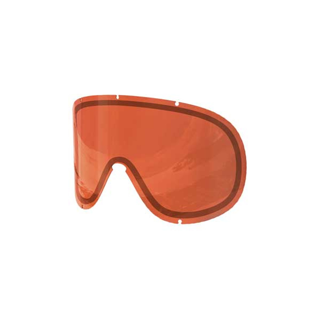 POC Retina Big Double Spare Lens - Sonar Orange