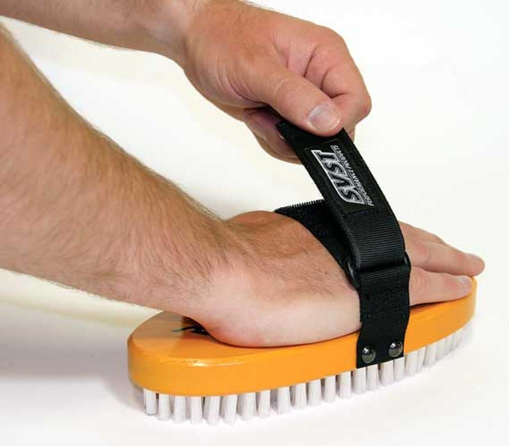 RaceService 1 Oval Nylon Wax Brush
