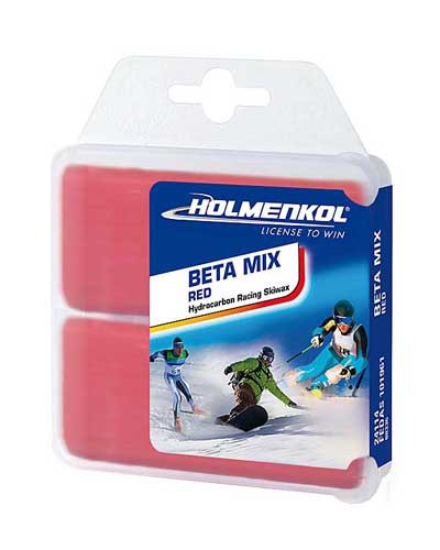 Holmenkol Beta Mix Red Wax