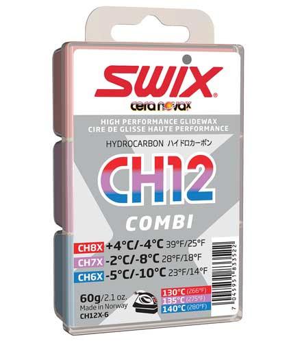 Swix CH12X Hydrocarbon 60g. Combi Pack