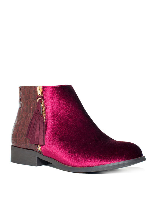 GC SHOES Paylin Burgundy