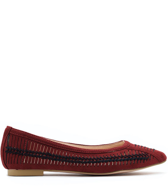 GC SHOES Amar Burgundy