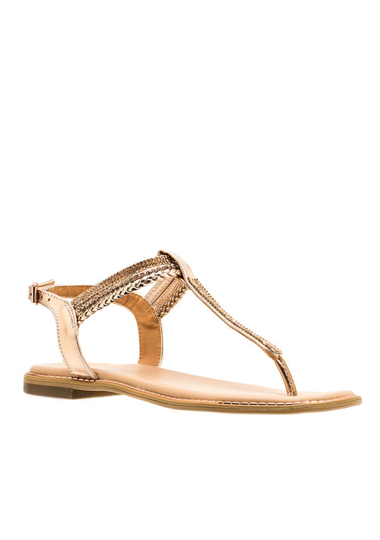 Lia Sandal Rose Gold