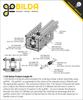 1120 Series U-Channel (45 Hole, 1104mm Length)