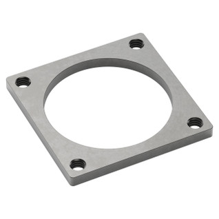 2803-0039-0039 - 2803 Series Stainless Steel Threaded Plate (39-39)
