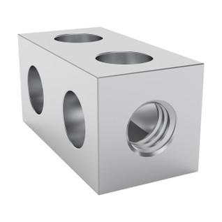 1106-0002-0016 - 1106 Series Square Beam (2 Hole, 16mm Length)