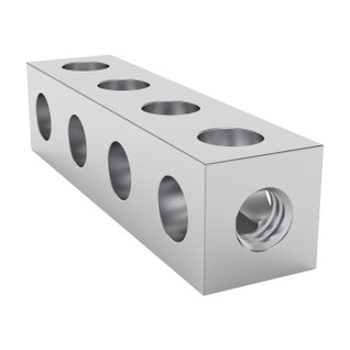 1106-0004-0032 - 1106 Series Square Beam (4 Hole, 32mm Length)