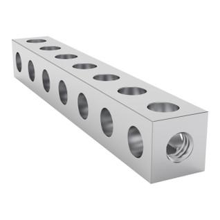 1106-0007-0056 - 1106 Series Square Beam (7 Hole, 56mm Length)