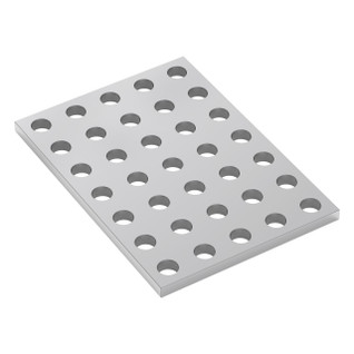 1116-0040-0056 - 1116 Series Grid Plate (5 x 7 Hole, 40 x 56mm)