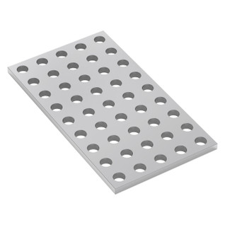 1116-0040-0072 - 1116 Series Grid Plate (5 x 9 Hole, 40x 72mm)