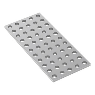1116-0040-0088 - 1116 Series Grid Plate (5 x 11 Hole, 40 x 88mm)