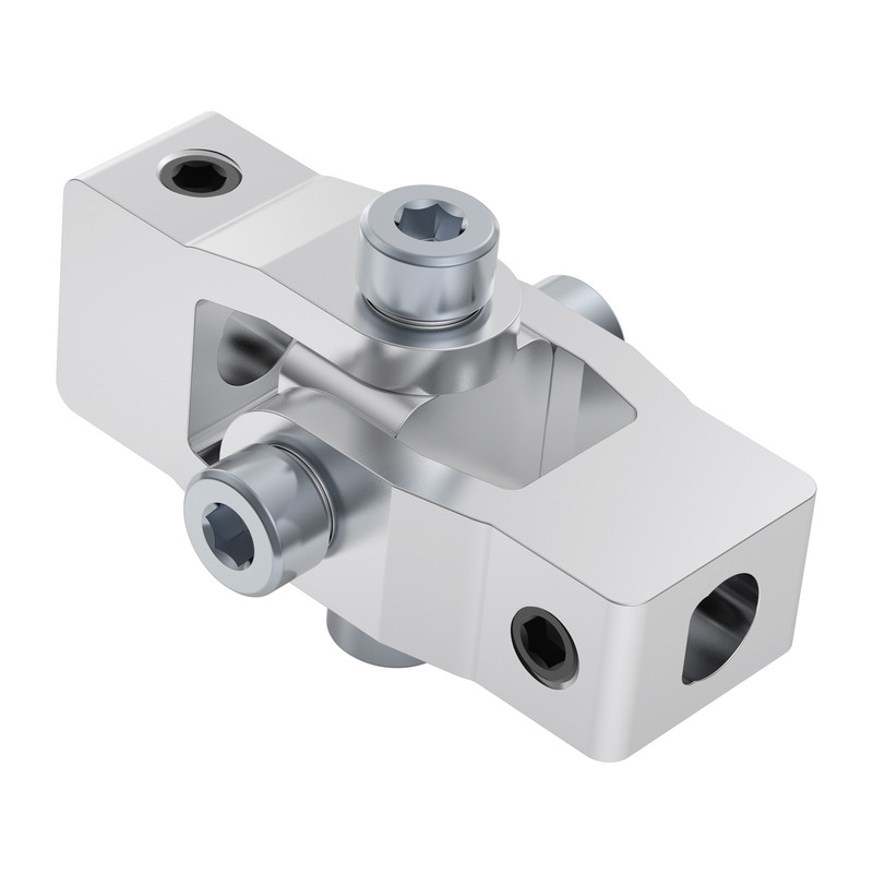4003-1006-1006 - 4003 Series Set Screw Universal Joint (6mm D-Bore to 6mm D-Bore)