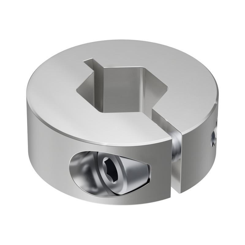 2910-1026-4012 - 2910 Series Aluminum Clamping Collar (12mm REX ID x 26mm OD, 10mm Length)