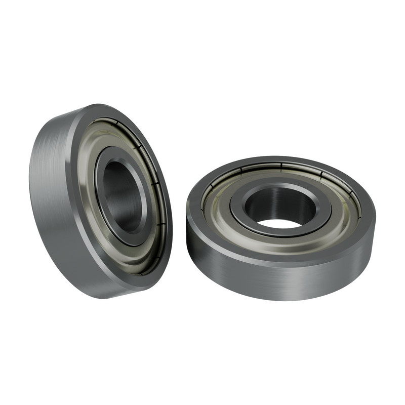 1600-0416-0006 - 1600 Series Non-Flanged Ball Bearing (6mm ID x 16mm OD, 4mm Thickness) - 2 Pack