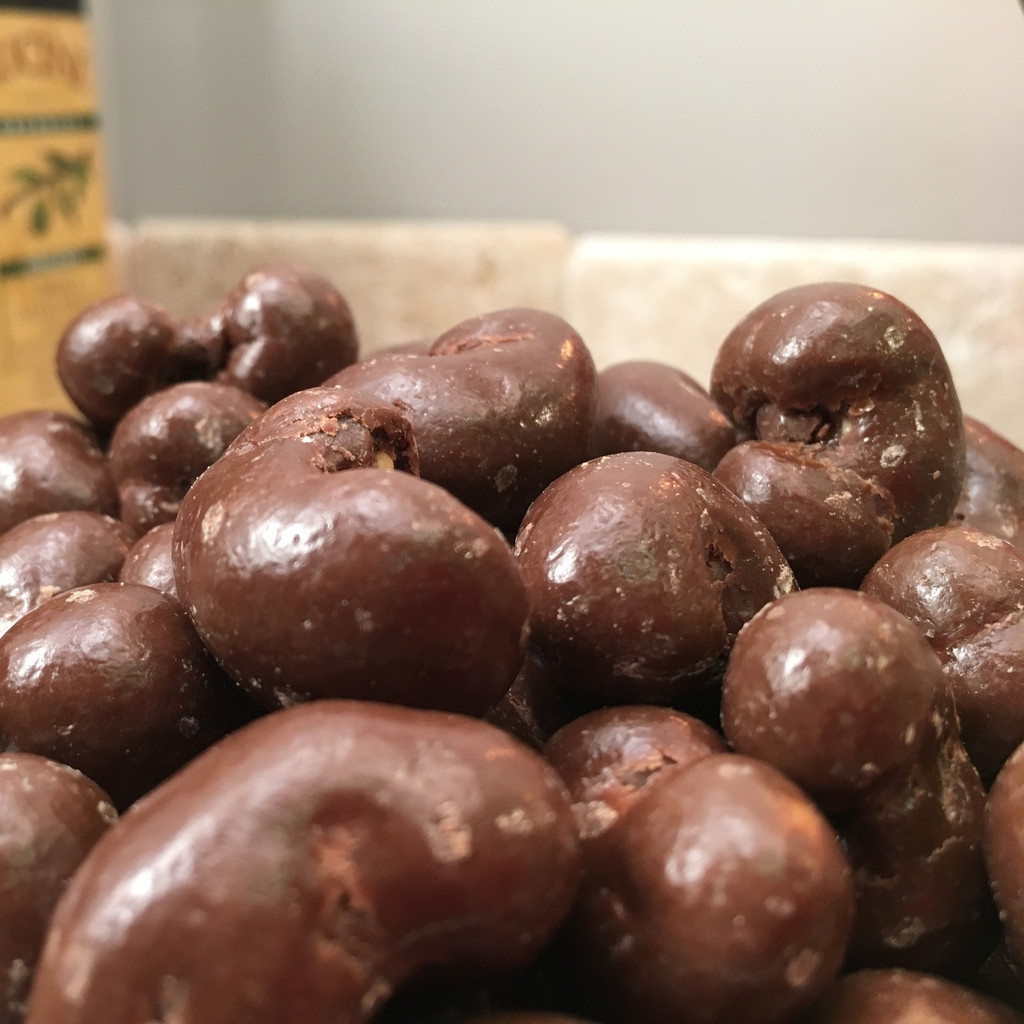 Chocolate Coated Cashews Dairy Free (Bulk, by the lb.)