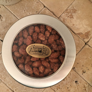 Cinnamon Almonds - Window Gift Tin