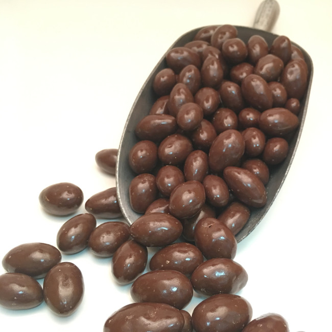 Chocolate Coating at the Fresh Roasted Almond Co.