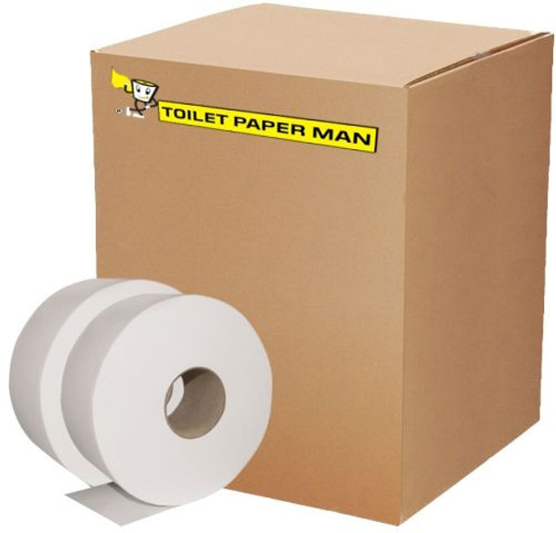 Jumbo Roll Toilet Paper - 2ply 250 Metre - 8 Rolls
