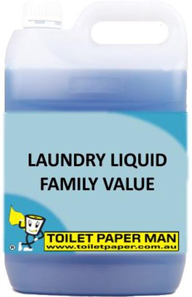 Toilet Paper Man - Laundry Liquid - Family Value - 5 Litre