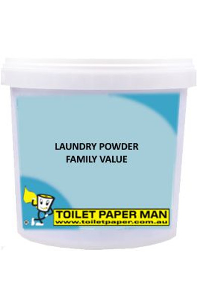 Toilet Paper Man - Laundry Powder - Family Value - 5 kg Bucket