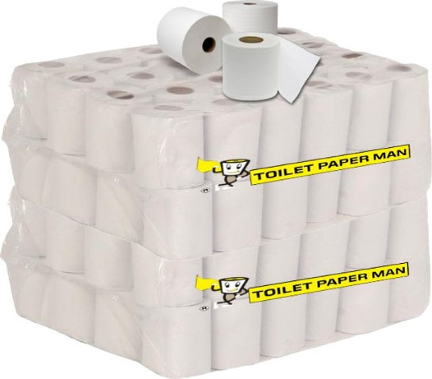 Mr. President - Toilet Paper - 3ply 250 Sheets - 96 Rolls