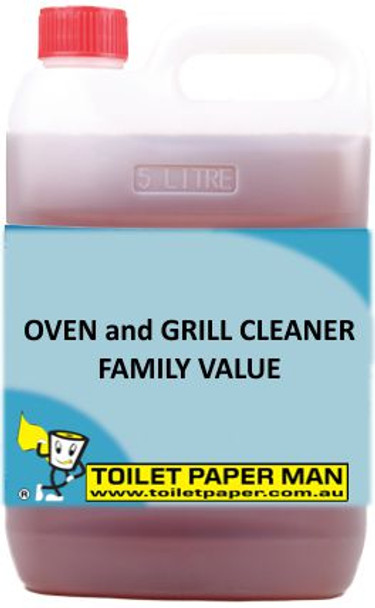 Toilet Paper Man - Oven and Grill Cleaner - Family Value - 5 Litre