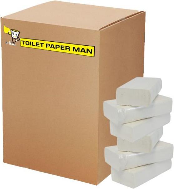 Toilet Paper Interleaved - 1ply 500 Sheets per Pack - 36 Packs