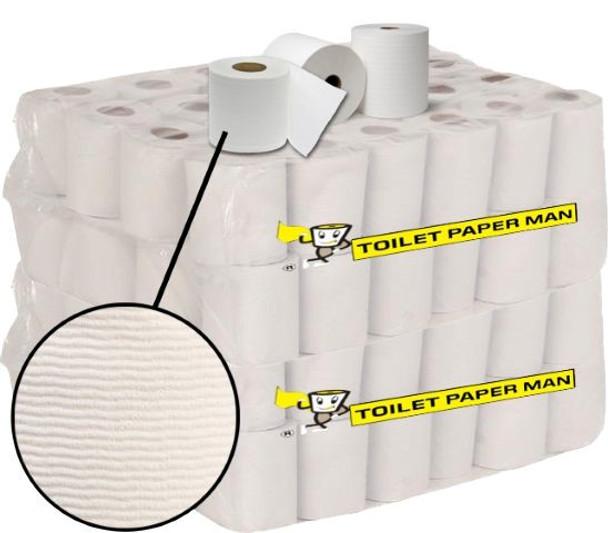 Twinkle  Toilet Paper - 2ply 400 Sheets per Roll - 96 Rolls
