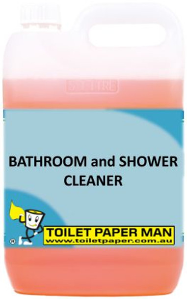Toilet Paper Man - Bathroom and Shower Cleaner - 20 Litre