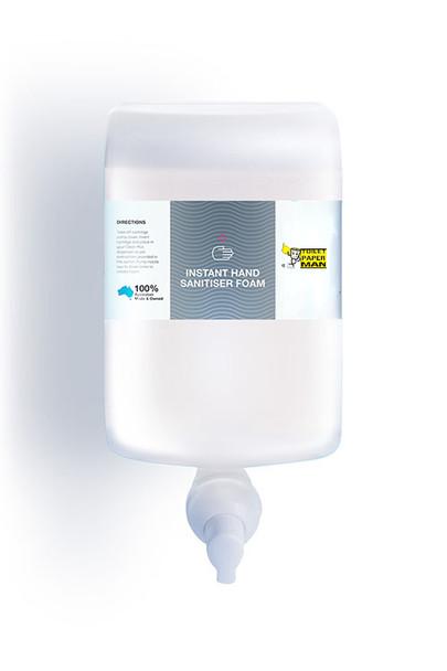 Foam Instant Hand Sanitiser - 1 Litre x 6