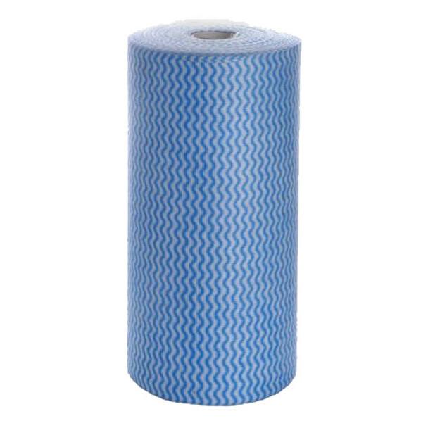 Blue Heavy Duty Wipes - 30 x 50 cm x 45 m - 6 Rolls/Carton