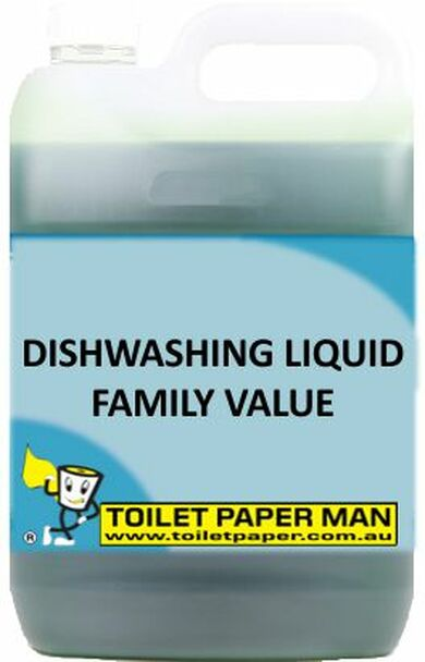 Toilet Paper Man - Dishwashing Liquid - Family Value - 20 Litre