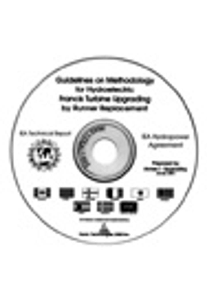 IEA Guidelines on Methodology for Generator Upgrading (CD-ROM)