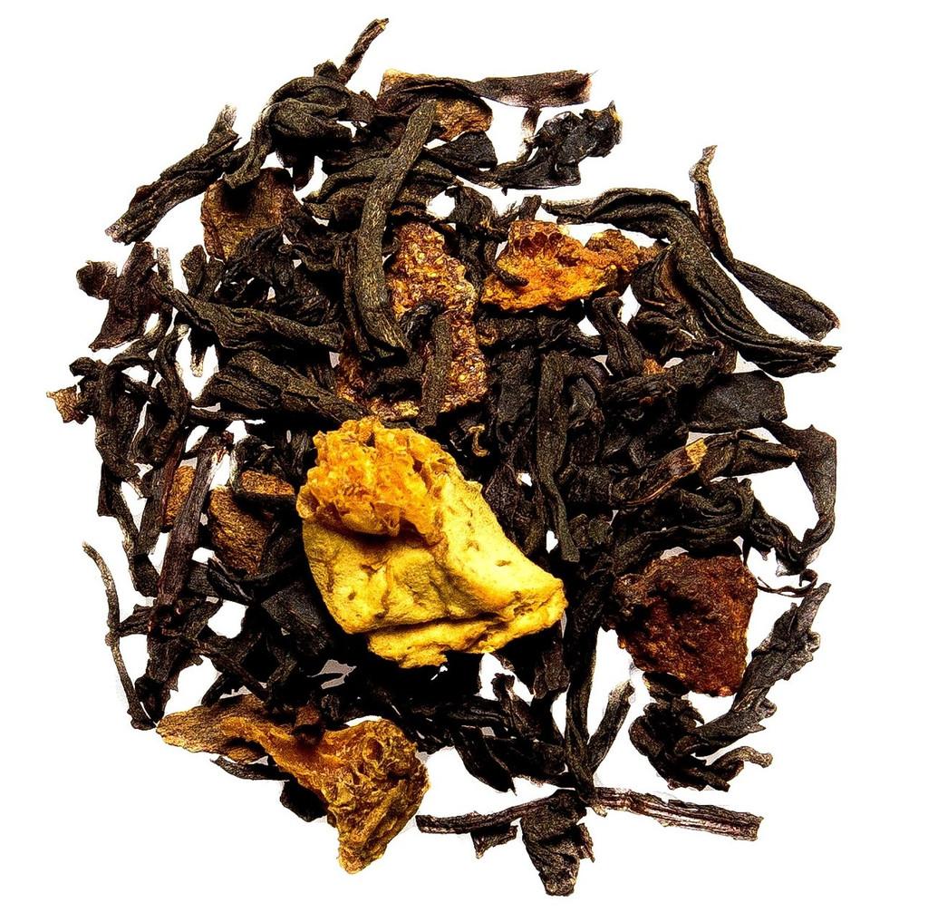 Orange cinnamon spice loose leaf tea