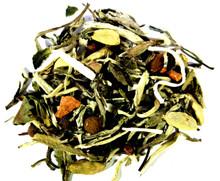 white coconut chocolate chai loose leaf tea